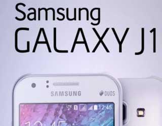 صورة جهاز Galaxy J1 يظهر بشكل علني على موقع روسي