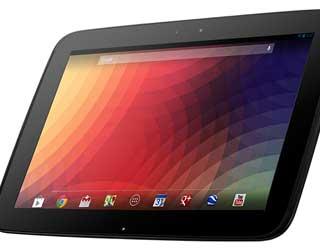 صورة جهاز Nexus 10 يحصل على الاندرويد 5.0.2