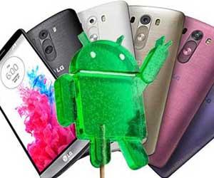 جهاز LG G3 يحصل على الأندرويد 5.0 في السعودية
