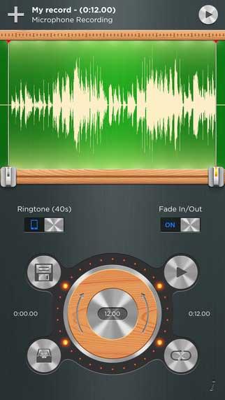 تطبيق Ringtone Designer Pro لإنشاء نغمات الرنين