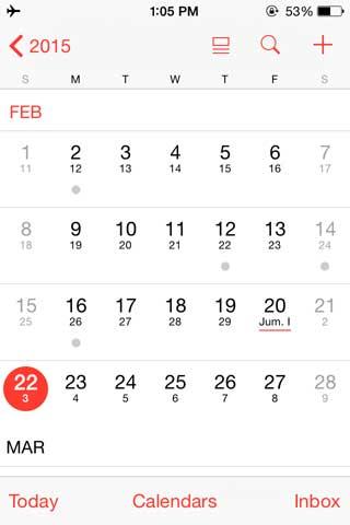 شرح إضافة التقويم الهجري لتطبيق التقويم في الأيفون