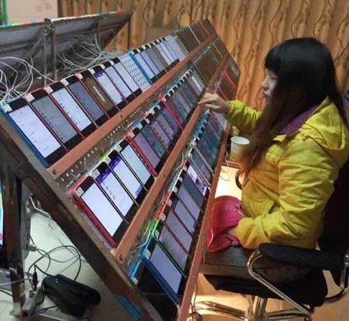 كيف يقوم الصينيون بالتلاعب بترتيب تطبيقات الأبستور؟