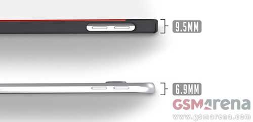 كم سيكون سمك جهاز جالاكسي S6 ؟