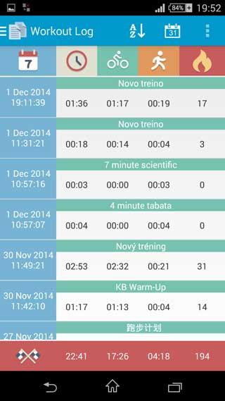 تطبيق Interval Timer لإنشاء جداول الأوقام والبرامج