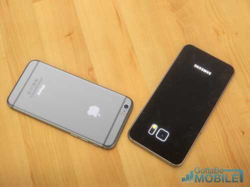 التصميم والهيكل بين الايفون 6 وجالاكسي S6