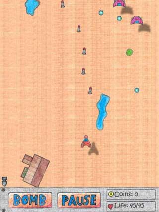 لعبة Notebook Wars Saga كلاسيكية للاندرويد