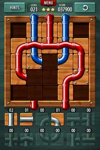 لعبة Pipe Puzzle الألغاز والتسلية ممتعة جدا