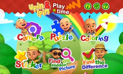 لعبة Upin&Ipin Playtime التعليمية المميزة للأندرويد