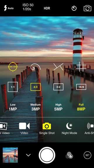 تطبيق ProCam 2 لتحرير الفيديو والصور