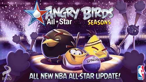لعبة Angry Birds Seasons الشهيرة