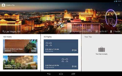 تطبيق Expedia Hotels & Flights للبحث عن عروض الفنادق والطائرات