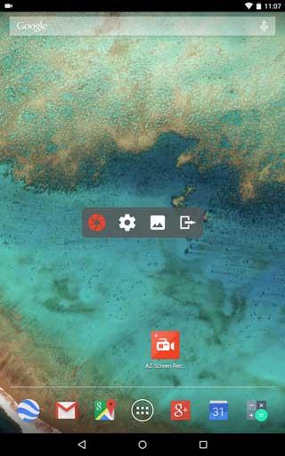تطبيق AZ Screen Recorder لتسجيل فيديو لشاشة الجهاز