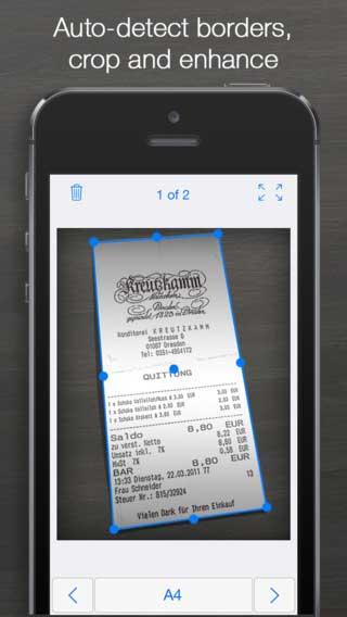 تطبيق iScanner لتحويل أيفونك إلى سكانر