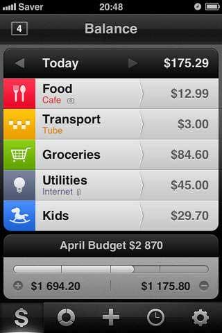 تطبيق Saver للتحكم في مصاريفك اليومية والشهرية
