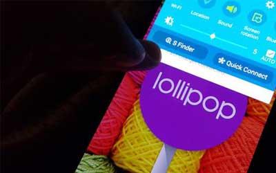 صورة جهاز Galaxy Note 2 سيحصل على الأندرويد المصاصة