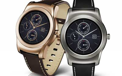 شركة LG تعلن عن ساعتها الدائرية G Watch Urbane