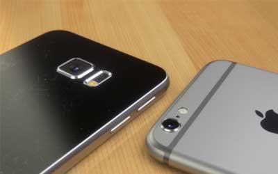 مقارنة ما بين الأيفون 6 وجالاكسي S6: من هو الأفضل؟