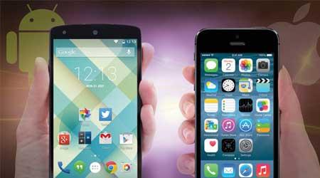 تقرير: الأندرويد المصاصة أكثر استقرارا من iOS 8