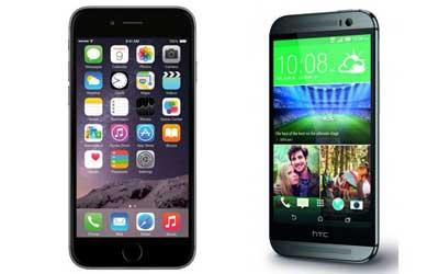 شركة HTC تسخر من الأيفون وتقول أنه ممل جدا !