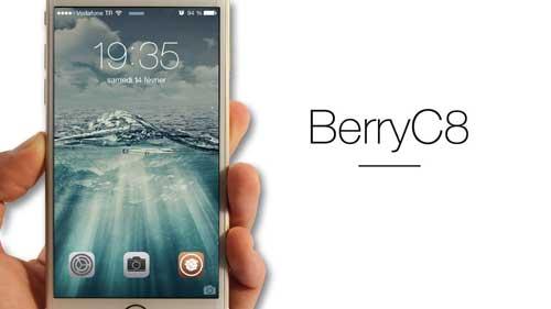 سيديا: أداة BerryC8 لإضافة أيقونات التطبيقات لشاشة القفل