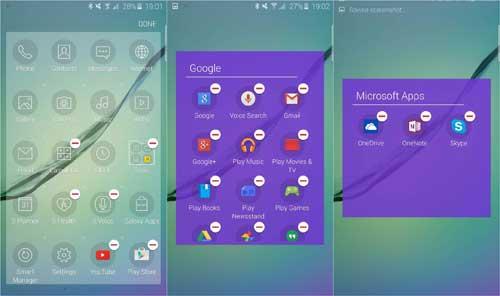 سامسونج تتيح حذف التطبيقات الافتراضية من جالاكسي S6