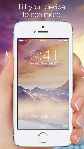 تطبيق Wallpapers for iOS 8 للحصول على أفضل الخلفيات الرائعة