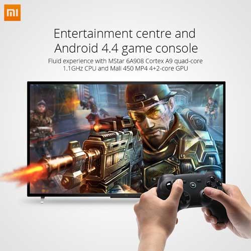 شركة Xiaomi تعلن عن تلفاز Mi TV 2 بنظام الاندرويد