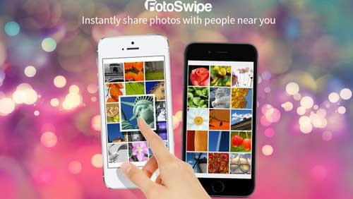 تطبيق FotoSwipe