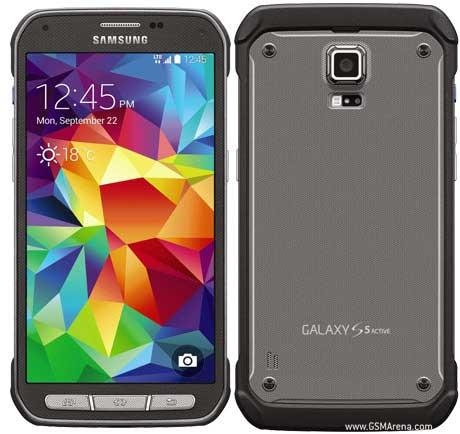 جهاز Galaxy S5 Active يبدأ بالحصول على الأندرويد المصاصة