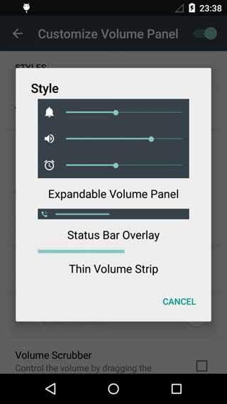 تطبيق SoundHUD للتحكم في مستوى الصوت بدقة