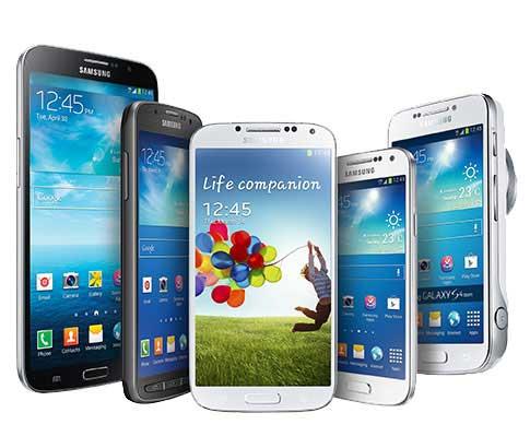 سلسلة جالاكسي: 6 سنوات من الأجهزة الرائعة - مقارنة