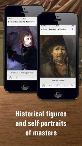 تطبيق Portrait painting HD لمشاهدة أفضل وأروع اللوحات الفنية