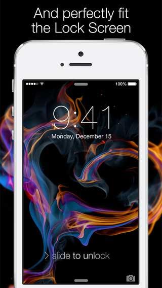 تطبيق Wallpapers for iOS 8