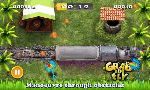 لعبة GrabnFly المفعمة بالألوان والممتعة للأندرويد