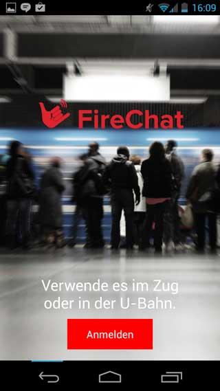 تطبيق FireChat للدردشة من دون اتصال انترنت !