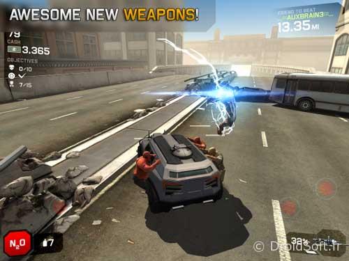 لعبة Zombie Highway 2 لقتال الزومبي - مجانية للاندرويد