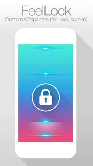 تطبيق FeelLock لصنع خلفيات شاشة القفل
