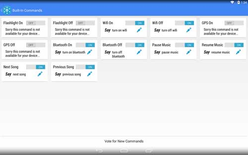 تطبيق Commandr for Google Now لضبط جوجل ناو