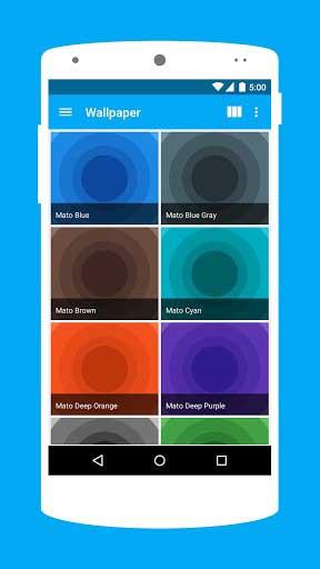 تطبيق Voxel يوفر لك أيقونات كثيرة رائعة وخلفيات جميلة