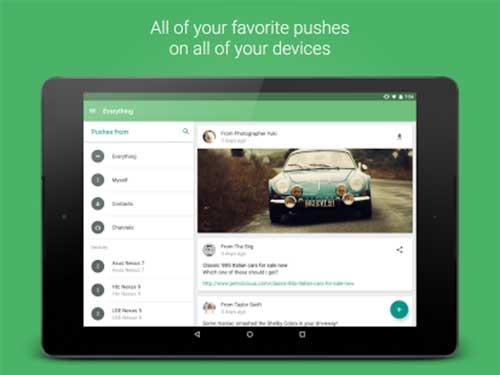 تطبيق Pushbullet لعرض تنبيهات وإشعارات جهازك على الحاسب