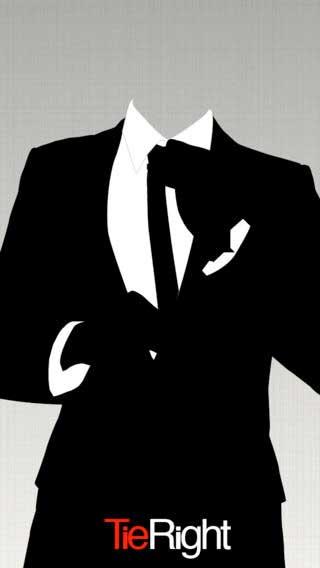 تطبيق Tie Right يعرض لك الطرق الأنسب لاستخدام ربطة العنق