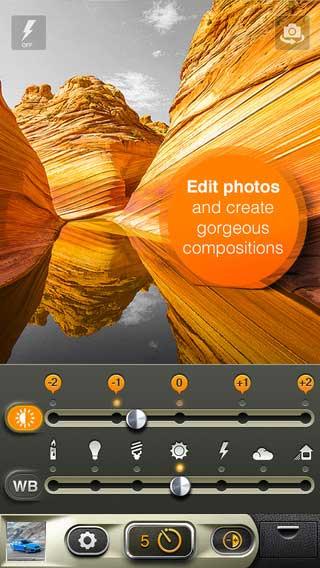تطبيق MonoColor Camera للتصوير وتعديل الصور