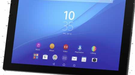 سوني تعلن رسميا عن اللوحي Xperia Z4 Tablet