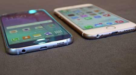 صورة سامسونج تقلد آبل: جالاكسي S6 ليس سوى أيفون جديد، صور وشرح !