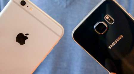 صورة بالصور: الفرق بين نتائج صور كاميرا الأيفون 6 بلس وجالاكسي S6، من الافضل ؟
