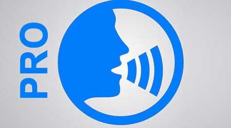 تطبيق Voice Keyboard Pro