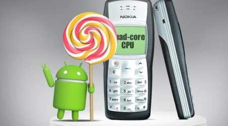 غريب: هاتف نوكيا 1100 سيصل قريبا بنظام الأندرويد المصاصة