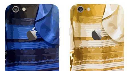 إكسسوارات: غطاء أيفون 6 بلون الفستان الغريب
