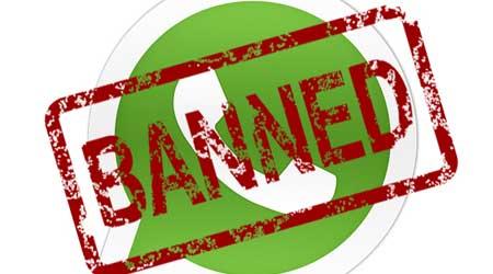 صورة بدء عملية حجب مكالمات واتس آب الصوتية في بعض الدول العربية !
