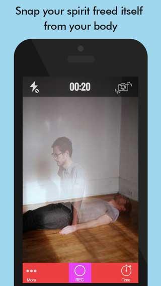 تطبيق Ghost Lens+